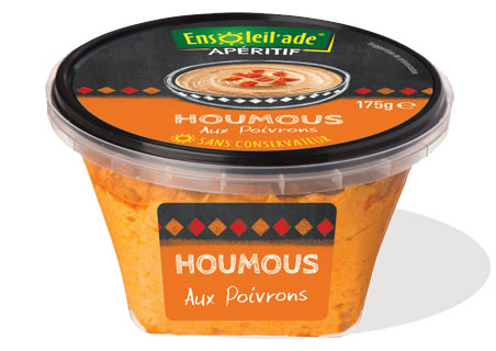 Houmous with Peppers